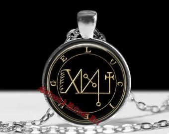 41 FOCALOR / LUCIFUGE demon seal pendant, Goetia sigil necklace, Lemegeton, Lesser Key, occult, summoning demons ritual amulet #104.41