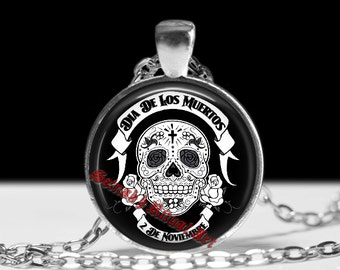Santa Muerte pendant, Santa Muerte jewelry, Saint Death pendant, magic pendant, magic jewelry, skeleton pendant, skull pendant #171