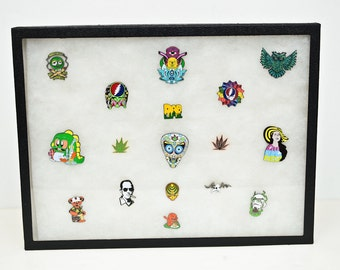 Glass pin collection - Bassnectar, Grateful Dead, Etc - Any 17 Hat pins