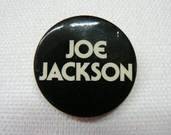 Vintage Early 80s Joe Jackson Pin / Button / Badge