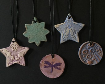Aromatherapy necklaces - ceramic