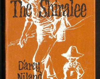 1950s THE SHIRALEE D'arcy Niland Hardcover Book With Dust jacket Classic Australian Story Vintage Fiction
