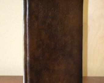 Chocolate Microfiber Blank Lined Journal (280 pgs)