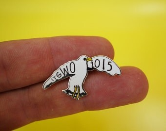 ITGWO 2015 Sea Gull Enamel Pin