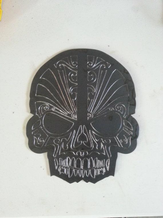 Sugar Skull from steel