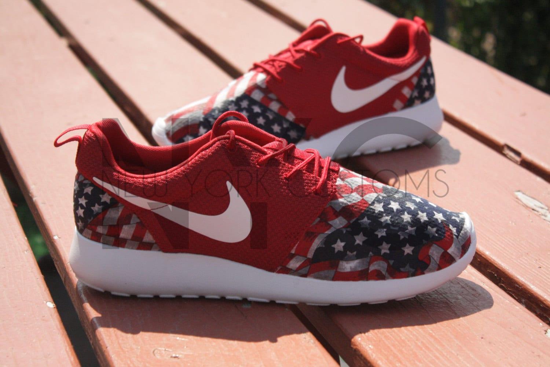 discount code for nike roshe run red marble american flag