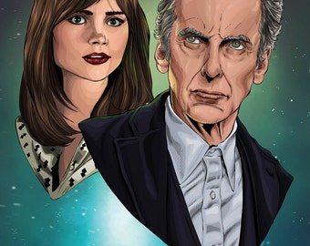 Dr Who 12th Doctor Print