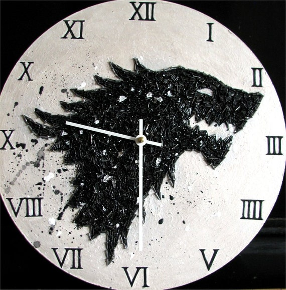 Game of Thrones House Stark home decor unique by