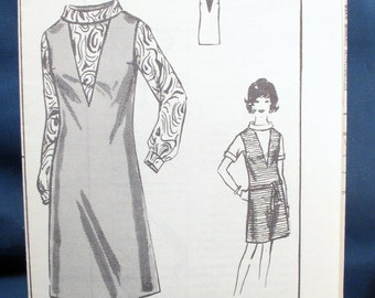 Vintage Sewing Pattern Misses Blouse and Jumper Size 14