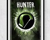 World of Warcraft: Hunter Class Symbol print/poster