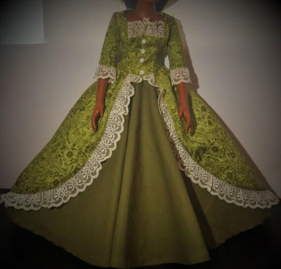 robe de bal du XIXe siècle siècle dencre BFC. par NorthPine