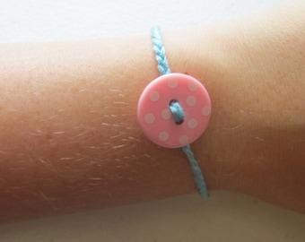 Button Bracelet, Bracelet, Buttons