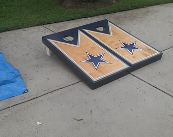 Dallas Cowboys cornhole set