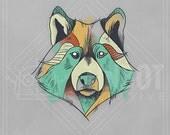 Animals - Wolf Print