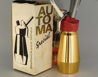 Czechoslovakia Brusel Whipped Cream Bottle