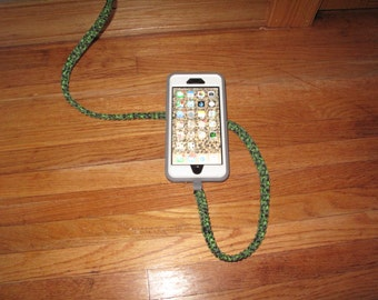 3 foot Paracord cell phone charging cable
