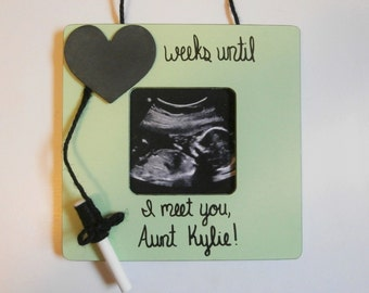 Aunt to be gift, pregnancy announcement aunt