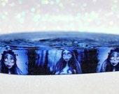 "5/8"" Corpse Bride Fold Over Elastic - Tim Burton - Movie"