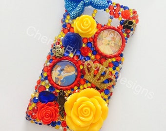 Beauty and the Beast inspired Phone Case
