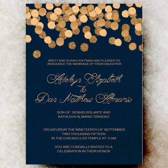 Winter Wedding Invitation Christmas Wedding Invitation – Christmas Wedding Invitation