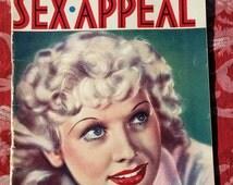 Art Deco French 1930's Paris Sex Appeal Soft Porn Magazine Risqué Nude Pictures Erotica publication