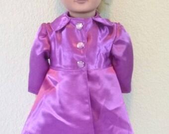 18 inch Girl Doll Coat