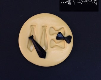 Neck & Bow Tie Silicone Mold