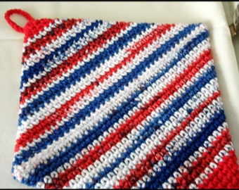 Red/White/Blue Hot pads/Potholders