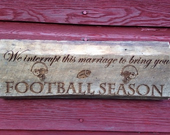We interrupt this marriage to bring you ...