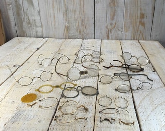 Childrens Eyeglasses - Broken Glasses, Spectacles, Childrens Frames Eyewear, Kids glasses, Small Eyeglasses, Childs Eyewear Antique Glasses