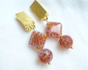 Clip earrings Fireagate