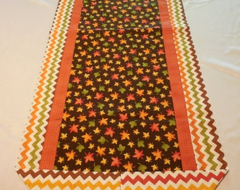 Handmade Fall Tablerunner