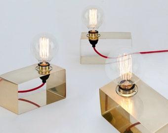 LJ LAMPS lamp PI horizontal - brass
