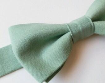 Pre-Tied Pistachio Green Bow Tie