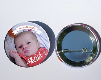 birth announcements badge