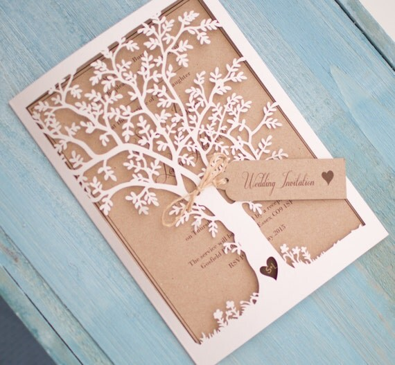 Wedding Invitations Laser Cut Uk : ... Cards Invitations & Announcements Stationery Stickers, Labels & Tags