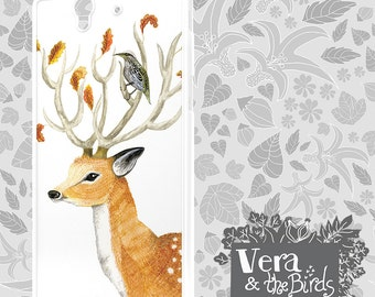 Sony Xperia Z3 deer case, Sony Xperia deer case, Xperia Z2 case, Sony Xperia Z1 case, Sony Xperia Z case, Sony Xperia  case