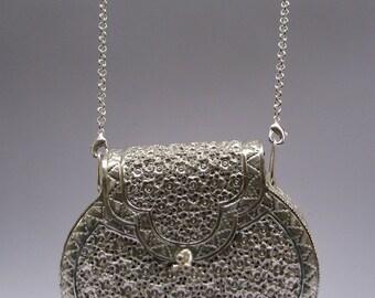 German Silver Clutch