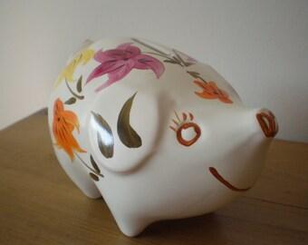 Ceramic Piggy Bank Etsy