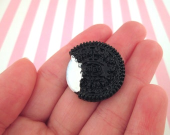 27mm Oreo Cookie Cabochons, Cute Decoden Cabochons,  #138a