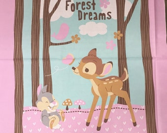 """36"""" X 45"""" Bambi Woodland Dreams  From Springs Creative"""