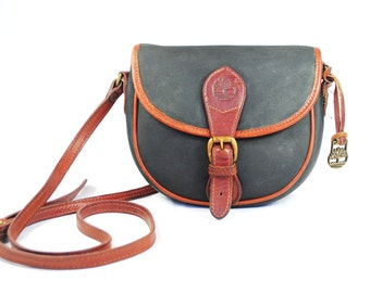 Timberland Leather Crossbody Purse / Messenger bag // Shoulder bag
