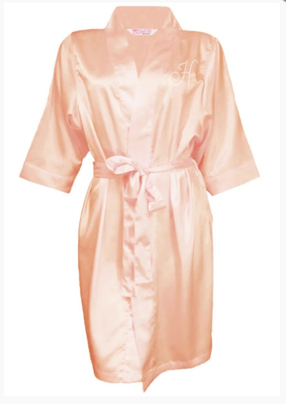 Bridal Party Robes Personalized With By FirstComesLoveBridal