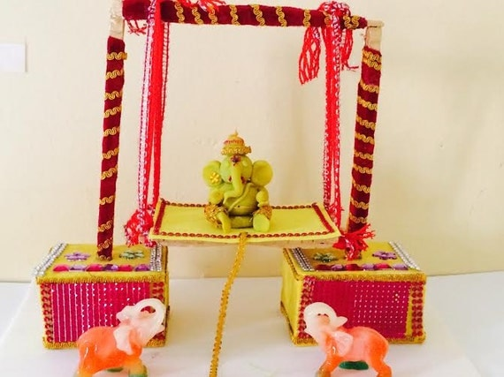 Ganesha Swing Ganesh Chathurthi Decor By