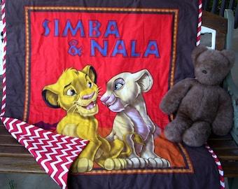 Simba Nala Blanket