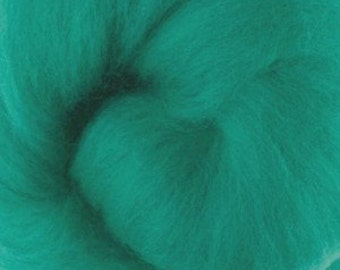 Extra fine Merino wool roving, Millet, 19 micron, 100 grams/3.5 oz, felting wool