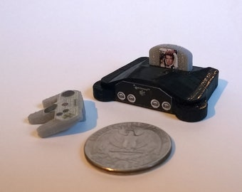 Mini Nintendo N64 - 3D Printed!