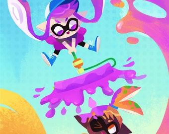 Splatoon - Art Print