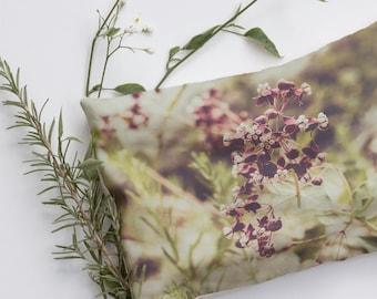 Alpine Meadows Wild Flowers, Relaxation Pillow, Heat Pad