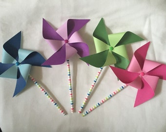 Rainbow/Multicolored PinWheel set